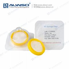 Labfil NY尼龙 13mm无菌过滤器 伽马射线消毒 灭菌 独立包装