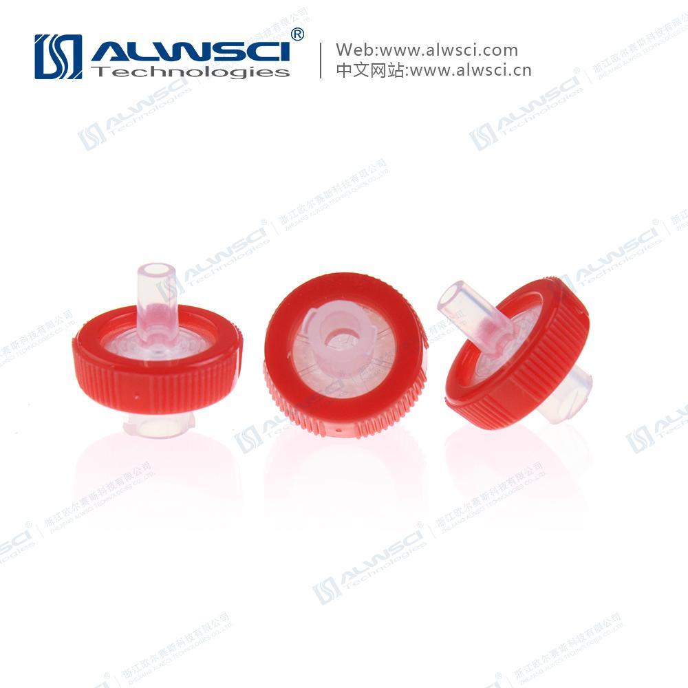 Labfil 25mm有機 親水疏水 PTFE包邊濾器  濾頭 針式過濾器 3