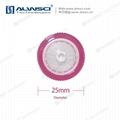 Labfil 25mm有機 親水疏水 PTFE包邊濾器  濾頭 針式過濾器 2