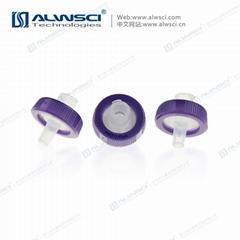 Labfil 25mm有機 親水疏水 PVDF包邊濾器  濾頭 針式過濾器