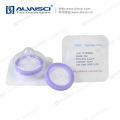Labfil 25mm無菌濾器 PVDF 聚偏氟乙烯 獨立包裝 過濾器