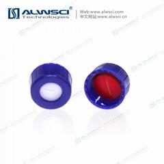 2ML 9-425 自动进样瓶螺口瓶 9mm蓝色盖垫 PTFE预开口