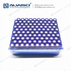 2mL 超淨款 氣相液相進樣瓶9-425 透明 一體式預組裝 藍盒