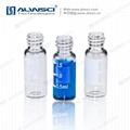 2ml色譜自動液相瓶 8mm玻璃樣品瓶 透明帶刻度 8-425 3