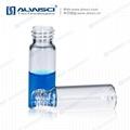 ALWSCI CLear Glass 4ml Screw Sample Vial