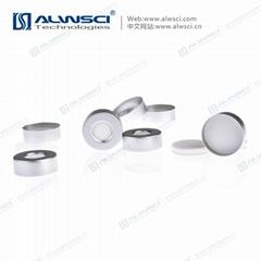 ALWSCI 20mm 氣相鉗口頂空瓶 蓋墊 特氟龍硅膠墊