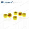 ALWSCI 9-425 HPLC 9mm Septa Cap Yellow