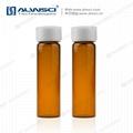 ALWSCI 40mL TOC vial Ultraclean Amber