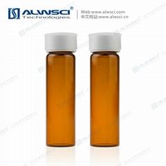 超淨款24-400 40mL TOC 棕色 樣品瓶 72個防塵預組裝