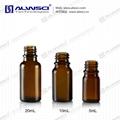 Glass Bottle & Tamper-Evident Closures 30mL