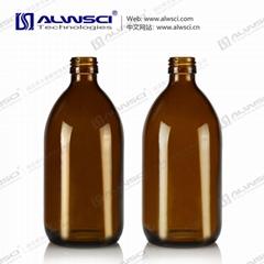 500mL 防盗口 棕色玻璃试剂瓶 分装 储存