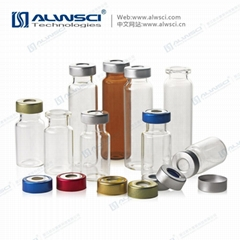 ALWSCI Crimp Top Headspace Vials Gas Chromatography Mass Spectrometry