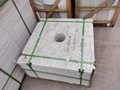湖北羅田芝麻白異形S型弧形石材加工 4