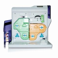 再轉印式証卡打印機 IC卡打印機 PVC卡打卡機