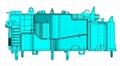 汽车空调壳体模具结构