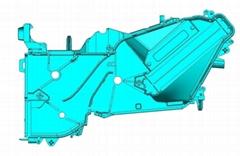 汽车空调壳体模具
