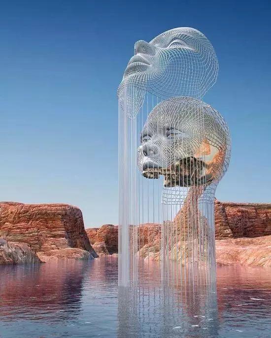 鏤空雕塑不鏽鋼雕塑 1