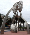 镂空雕塑不锈钢雕塑 3