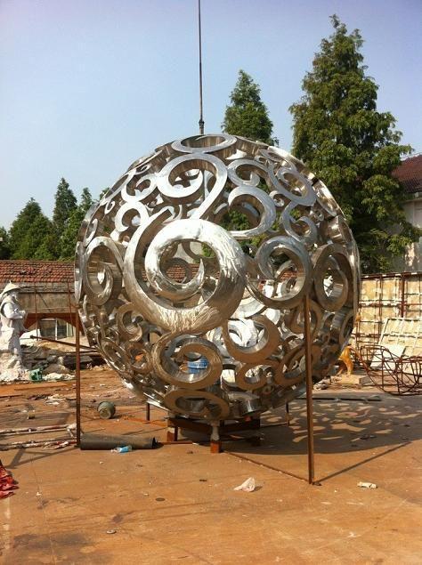 鏤空雕塑不鏽鋼雕塑 4