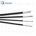 TUV standard single core pv dc solar cable 6mm2