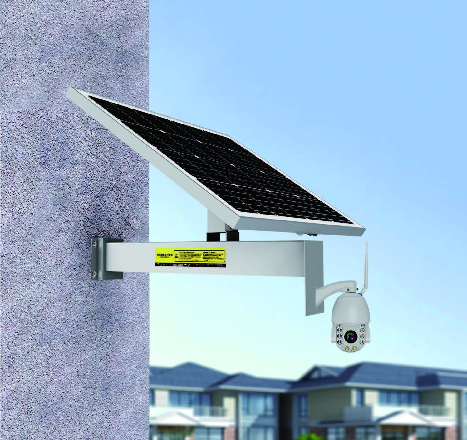 solar video camera cctv ip