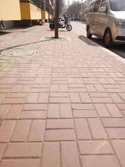 专业设计制作人行马路道