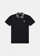 GRECA POLO SHIRT,black         polo shirt,2021         polo shirt
