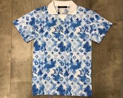 WATERCOLOR MONOGRAM    POLO shirt,newest    men polo shirt,1:1 quality    polo