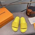yellow women    Slipper,   leather