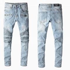 Whosale top balmain Mens jeans, High quality Balmain jeans, famous brand jeans (Hot Product - 1*)