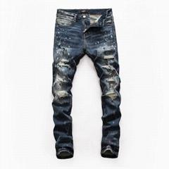 factory price for Amiri long jeans, man Amiri jeans,dark blue Amiri jeans
