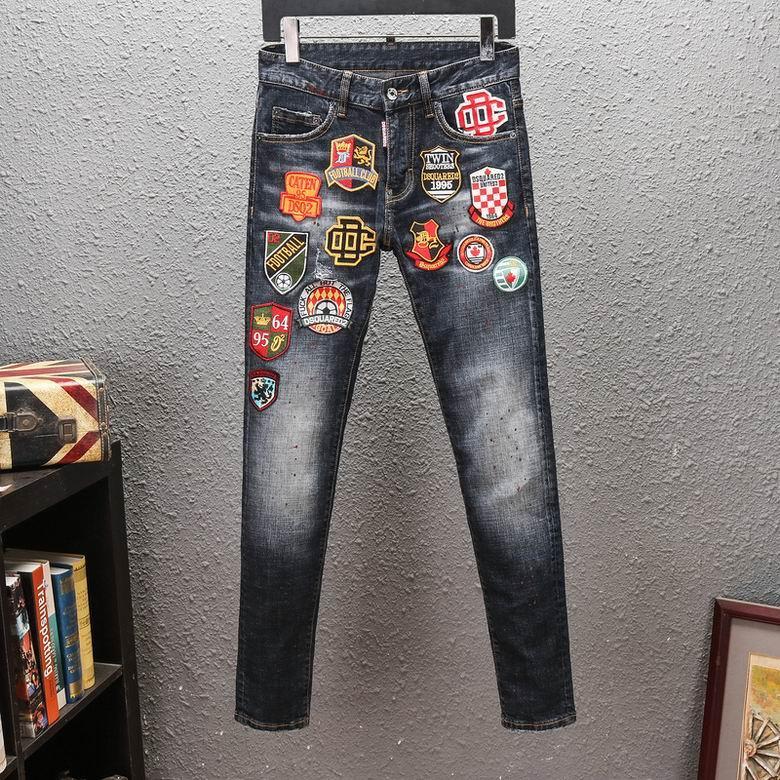 Wholesale original quality DSQ jeans, embroidery logo style DSQ jeans,DSQ jeans  1