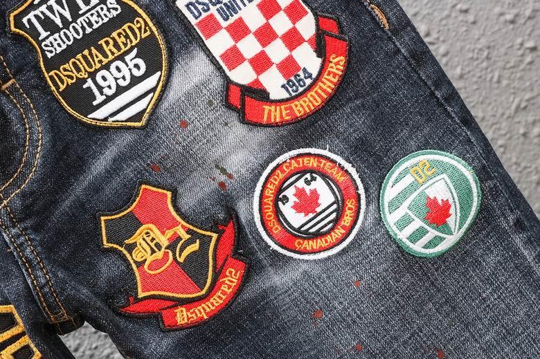 Wholesale original quality DSQ jeans, embroidery logo style DSQ jeans,DSQ jeans  8