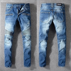 newest Balmain jeans,1:1 quality men Balmain jeans,high copy Balmain jeans