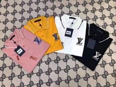 wholesale Reverse Lapel bead fabric    polo shirt,high copy    men polo shirt