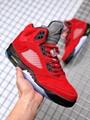 "hot sale Air Jordan 5 ""Raging Bull"",9A"