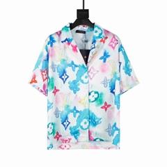 newest    MULTICOLOR WATERCOLOR SHIRT, original quality    shirt,brand    shirt