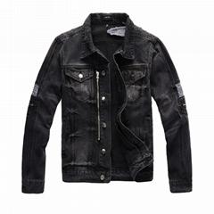Wholesale original quality Amiri jeans jacket  street style Amiri jeans jacket