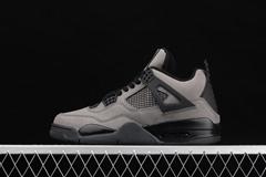 Hot selling Air Jordan 4 Retro AJ4 Suede cool gray Basketball shoes