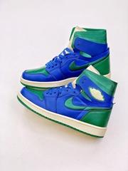 Air Jordan 1 Zoom AJ1 Blue and Green California Basketball shoes sports shoes