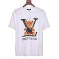 2021 newest               backpack bear Round neck short sleeve T-shirt