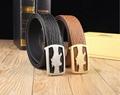 Pure leather fashion luxury belt Men's and women's casual belts BB belt