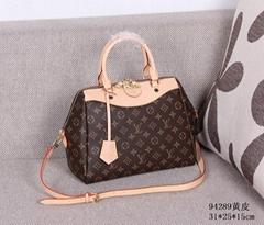 top brand    fashion women handbags shoulder bag luxury bag cow leather bag