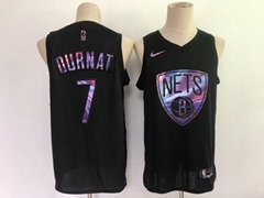kevin durant nets black iridescent holographic limited edition jersey NBA wear