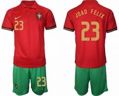 European Cup  Football Jerseys  Soccer Clothes Sets Short Sleeve Sportswear