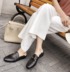 1 Muller shoes leather shoes casual shoes women's shoes