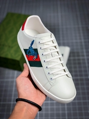 newest OG GC men shoes Imported calf leather bee with gold embroidery Sneaker