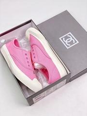 hot leather shoes women shoes Chane*l leisure sandals Chane*l Slipper lady shoes