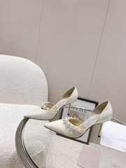 OG Jimmy Zhoo Lady Shoes Jimmy Shoo High-Heeled Shoes            high heels
