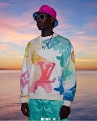 2021    new water ink building garden sweater hoodies coat jacket tshirt clothes